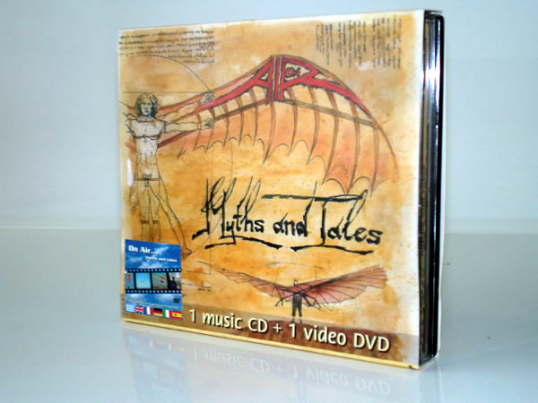 on air pack cd dvd