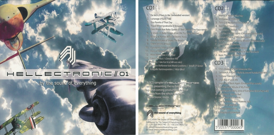 Helectronic #01 (3 CD Pack)