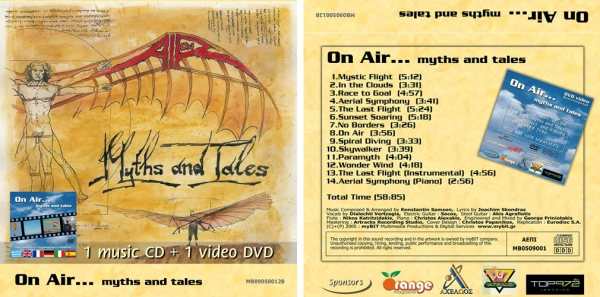 On Air... myths and tales (CD+DVD)