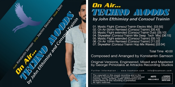On Air ... Techno Moods (CD-Single)