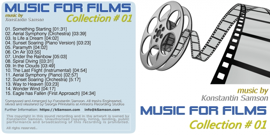 Music for Films Collection No1 (CD)